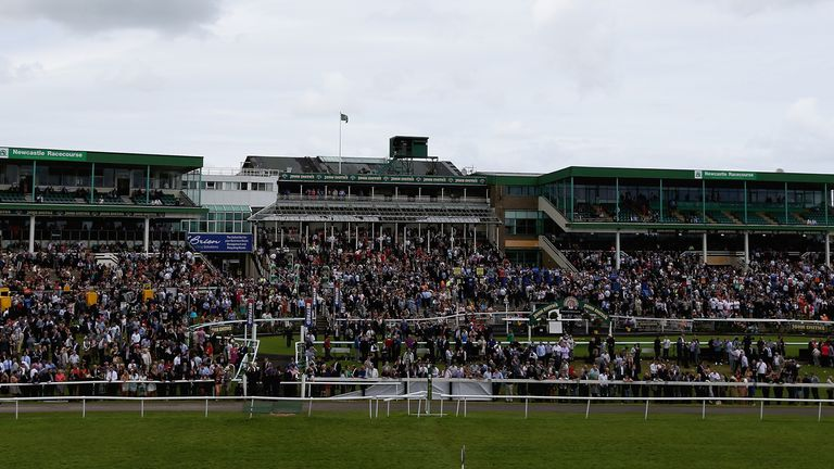 General view of Newcastle racecourse