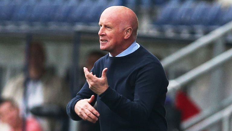 Peter Houston: Falkirk manager has appointed James McDonaugh