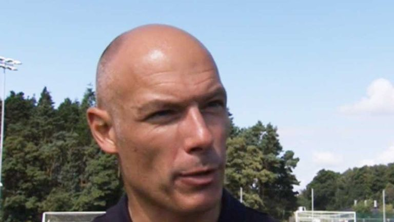 Howard Webb: Has decided it is time for a new challenge