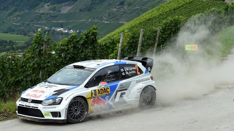 Jari-Matti Latvala: Heading towards victory at the Rally of Germany