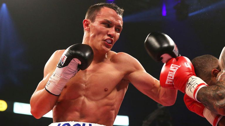 Josh Warrington: Holds British and Commonwealth titles