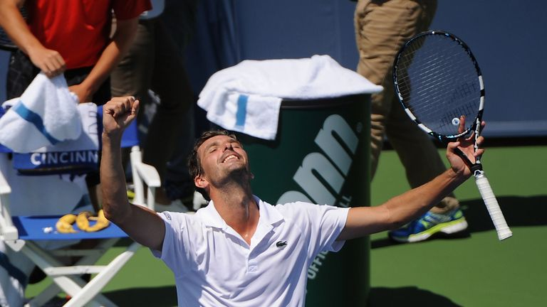 Julien Benneteau: Reached a Masters 1000 semi-final for the first time