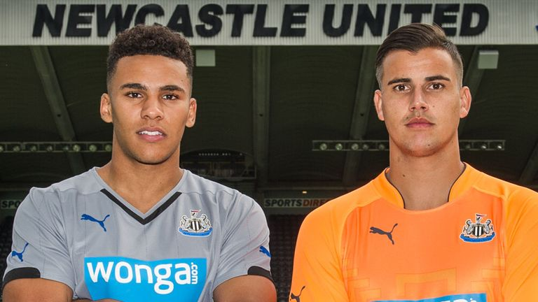 Jamaal Lascelles and Karl Darlow: Joined Newcastle from Forest