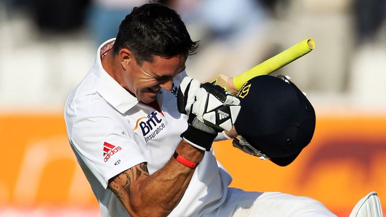 Kevin Pietersen, packing a punch