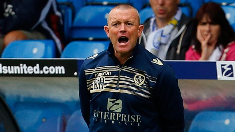 Dave Hockaday: Under pressure as Leeds head coach