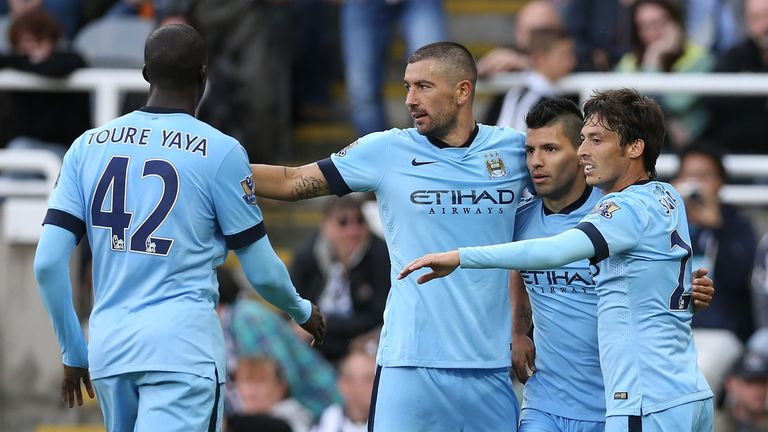 Manchester City matched Chelsea's opening day win