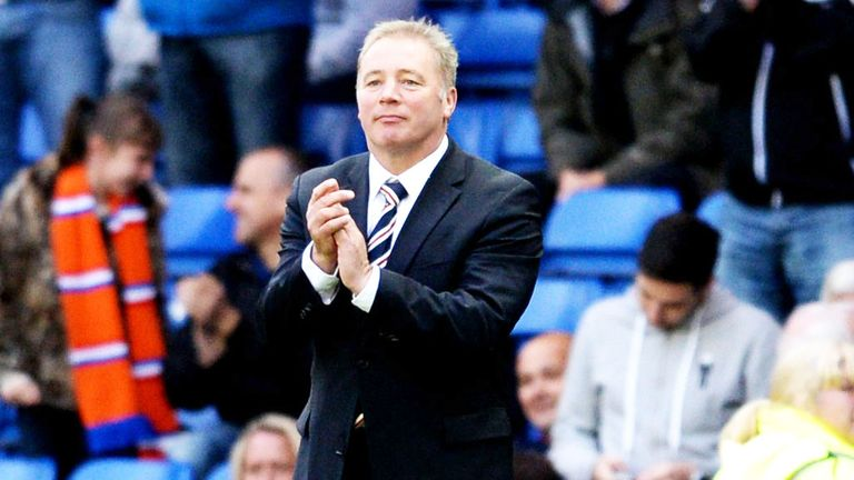 Ally McCoist: Rangers manager was happy with the display against Clyde
