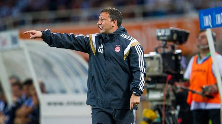 Derek McInnes: Aberdeen manager preparing for Real Sociedad test