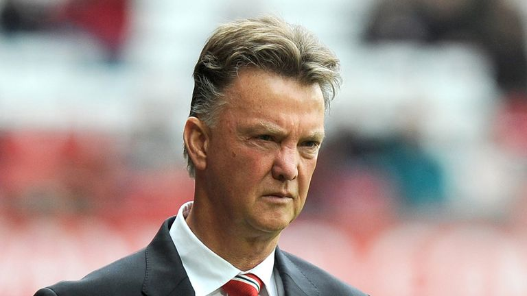 Louis van Gaal: Manchester United boss calls for patience from supporters