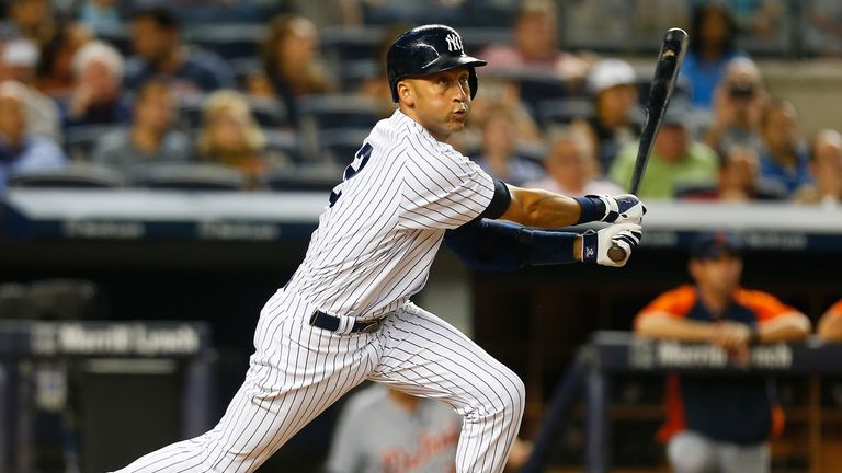 Derek Jeter: Helped the New York Yankees snap their losing streak