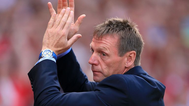Stuart Pearce: Pleased with fresh faces