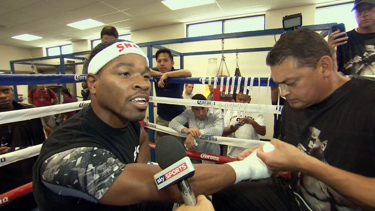 Shawn Porter: says he has more styles to come when he takes on Brook