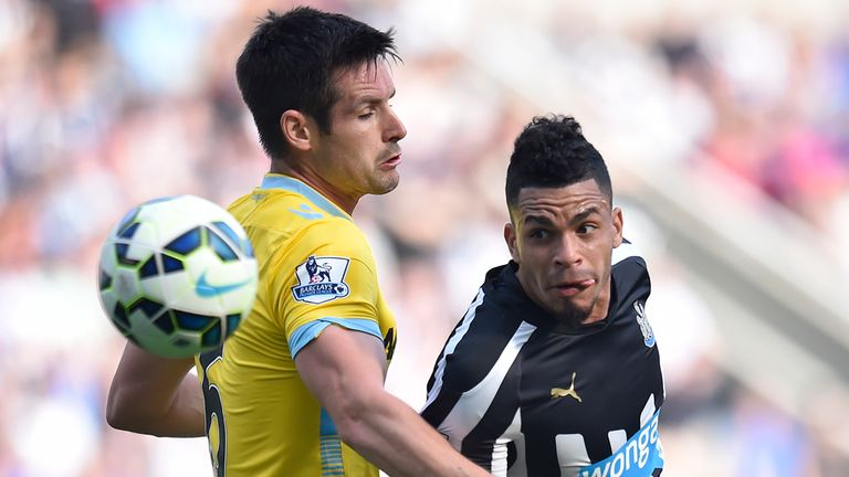 Emmanuel Riviere: The £5million summer signing did not attempt a single shot against Palace