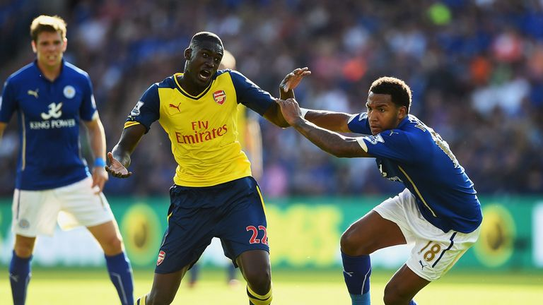 Sanogo: Failed to find the net at Leicester