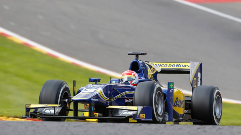Felipe Nasr: Winner in Belgium