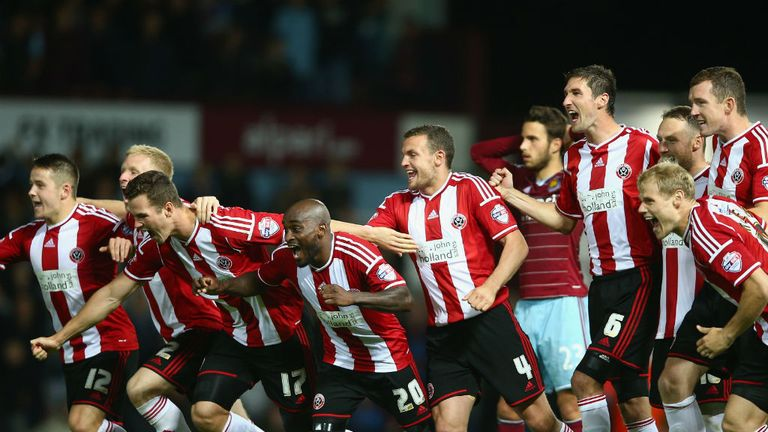 Sheffield United: Defeated Hammers on penalties