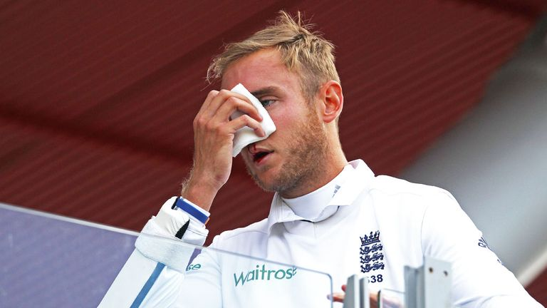 Stuart Broad: Questions remain over mask for England star