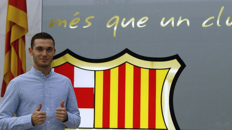 Thomas Vermaelen: Has joined Barcelona on a five-year contract