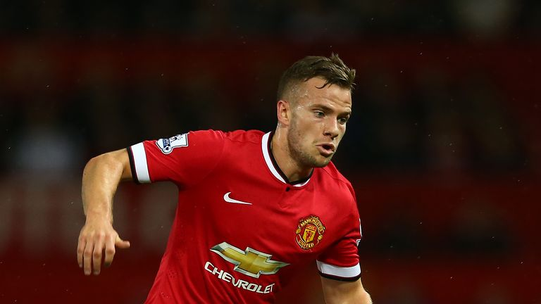 Tom Cleverley: United midfielder in action against Valencia in pre-season