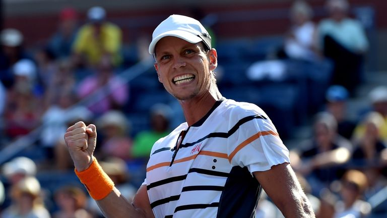 Tomas Berdych is a key man for the Czech Davis Cup squad