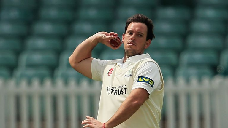 Jim Allenby: Took 5-56 as Glamorgan got the upper hand on Essex in Swansea