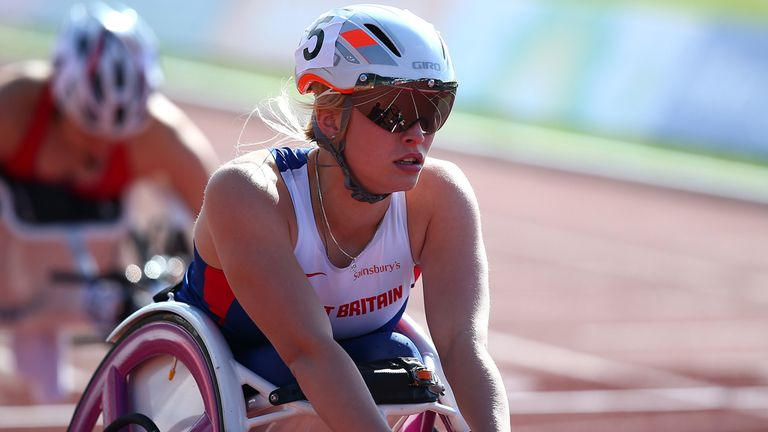 Sammi Kinghorn has been breaking world records for fun
