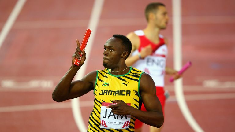 Usain Bolt: Now owns Olympic, world and Commonwealth gold medals