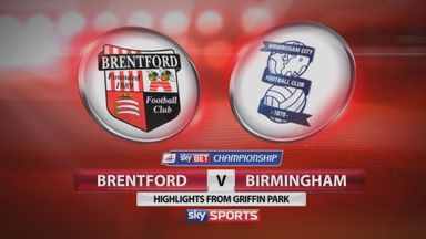 Brentford 1-1 Birmingham