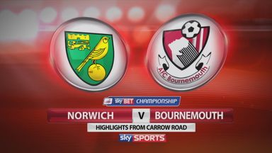 Norwich 1-1 Bournemouth