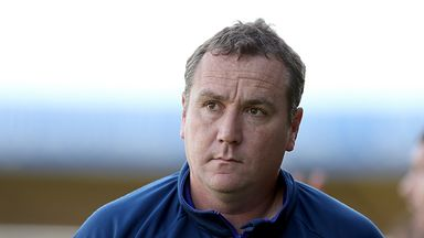 Micky Mellon: Keeping his feet firmly on the ground