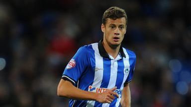 Oriol Riera: Wigan loanee went close for Deportivo