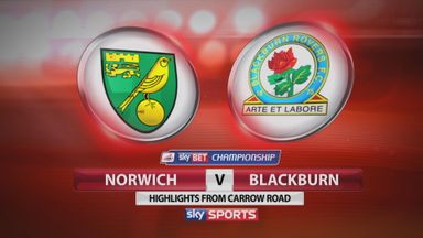 Norwich 2-1 Blackburn