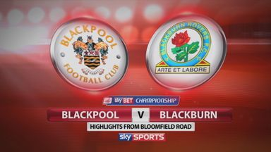 Blackpool 1-2 Blackburn