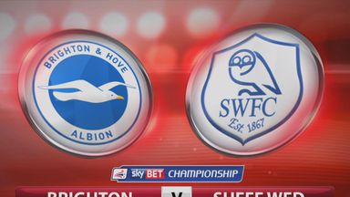 Brighton 0-1 Sheffield Wednesday