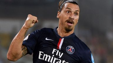 Zlatan Ibrahimovic: Picked up a first-half injury
