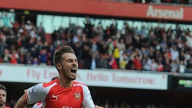 Aaron Ramsey: Scored Arsenal