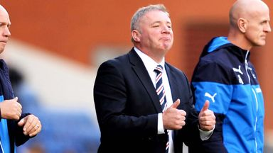 Ally McCoist: Pleased to see Kris Boyd back in the goals