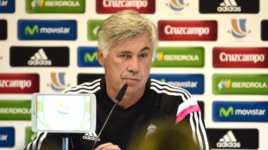 Carlo Ancelotti: Will bid to extend Real Madrid's winning run in all competitions to 10 games