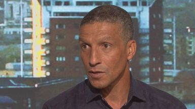 Chris Hughton admitted his interest in the Crystal Palace and Brighton jobs on Goals on Sunday
