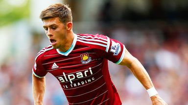 Aaron Cresswell: Has slotted in well at West Ham