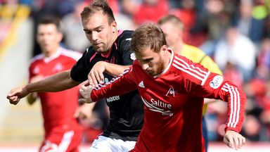 David Goodwillie: New deal for Aberdeen striker