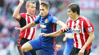 Adnan Januzaj: Manchester United man evades two challenges
