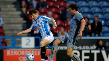 Joe Lolley (l): Has extended loan spell at Scunthorpe