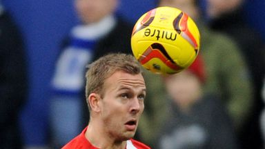 Jordan Rhodes: Scored twice for Rovers