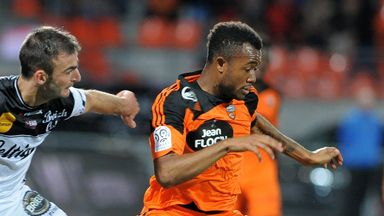 Jordan Ayew (r): Scored for Lorient