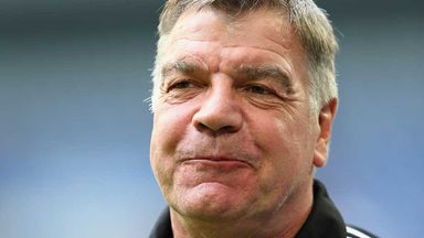Sam Allardyce: Happy with his West Ham side