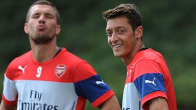 Mesut Ozil: Hoping for an improved season at Arsenal