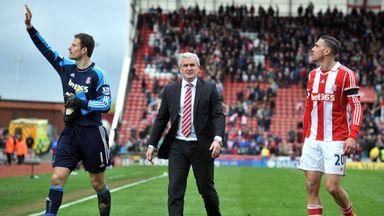 Mark Hughes (R): Wants to keep Stoke