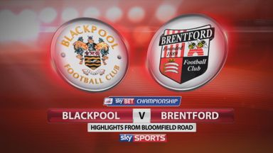 Blackpool 1-2 Brentford