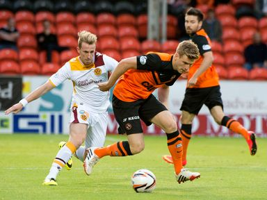 Stuart Armstrong: Doubt for Dundee United